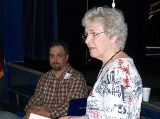 Elaine Shreve and son, Tom