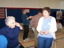 Sue Friedman and Sharon Cram