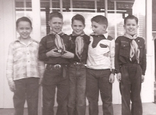 1950 Larry Williams, Larry Peyton, Andy Norris, Gary Kelling, David Krom