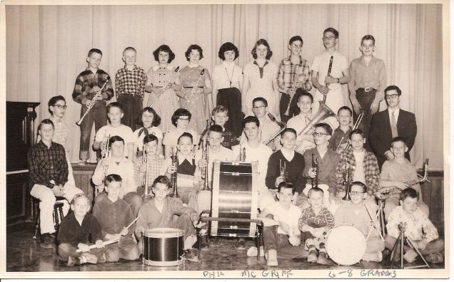 GHS 19560s, grades 6-8, Phil McGriff, teacher