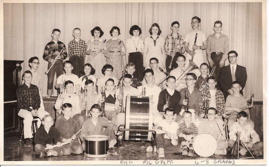 GHS 19560s, grades 6-8, Phil McGriff, teacher