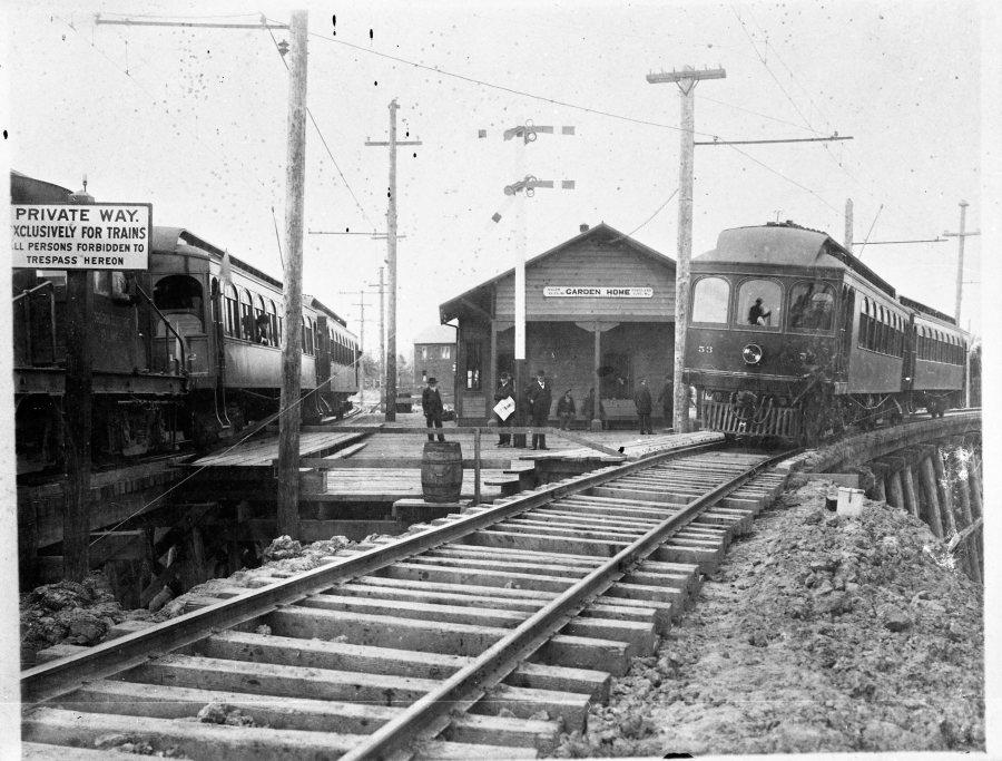 Garden Home train station