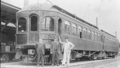 Oregon Electric - track construction 7