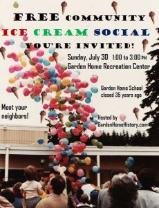 July 30, 2017 Ice Cream Social