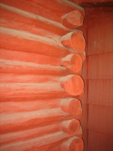 8550 SW Garden Home Rd - Stefanicgrimsbo log cabin - log detail