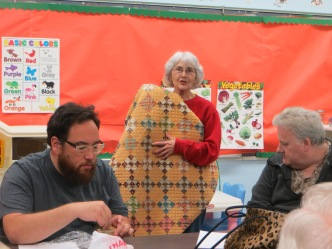 Show and Tell with Virginia Vanture and her quilt