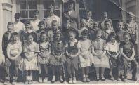 Garden Home School Mrs. Kaiser's 4th grade class. (Warren Cook lower left, Robert Gertsch upper right)