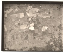 1936 aerial photo of SW Multnomah Blvd