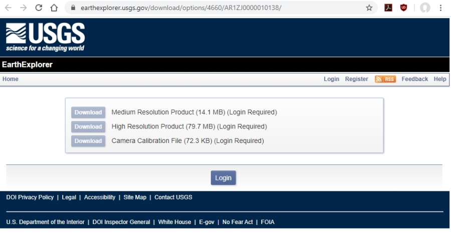 9 - download desired resolution - USGS EarthExplorer.usgs.gov