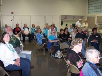 An interested audience - History Society Roundtable May 18, 2018