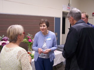 Este Mapes speaking with Sharon Cram, Bob Cram and Steve Bauer - History Society Roundtable May 18, 2018