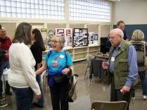 Ginny Mapes, Patty Bonney and Don Dunbar - History Society Roundtable May 18, 2018