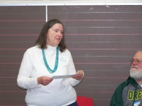 Ginny Mapes speaking - Ginny Mapes reception May 18, 2018