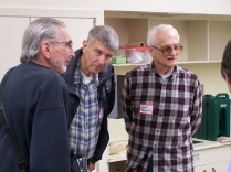 Harry Pinniger, Bob Cram and John Pacella - History Society Roundtable May 18, 2018
