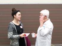 Nicole Shreve and Patsy VandeVenter - History Society Roundtable May 18, 2018