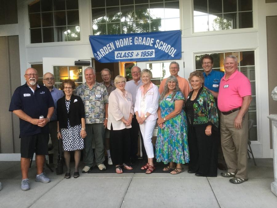 Class of 1958 Garden Home School 2018 Reunion