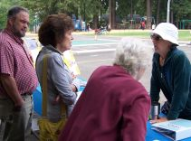 2018-08-25 Mini-Market - Tom Shreve, Carole Vranizan, Elaine Shreve, Barb Stroud