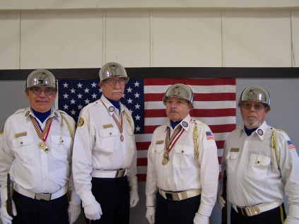 Aloha American Legion Post 104 Color Guard - Michael Graves Bill Shields Bill Bennett