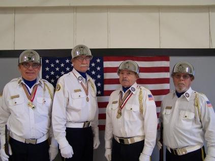 Aloha American Legion Post 104 Color Guard - Michael Graves Bill Shields Bill Bennett