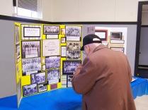 Don Dunbar views historic displays