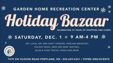 2018 Holiday Bazaar ad