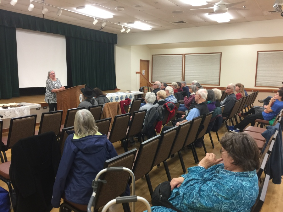 2019-01-08 history reenactment - Friends of Historic Forest Grove