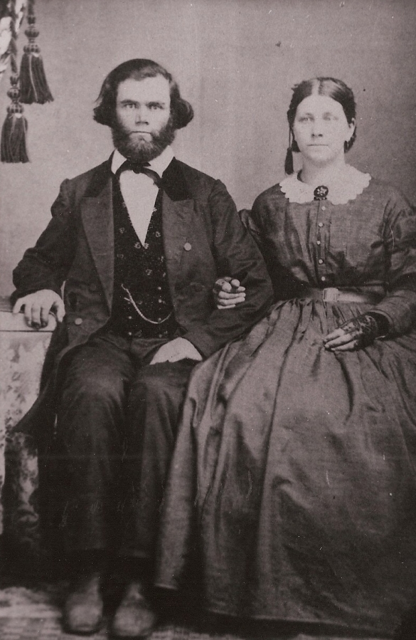 John Patton and Margaret Simmons Patton (parents of Polly Philena Patton Oleson)