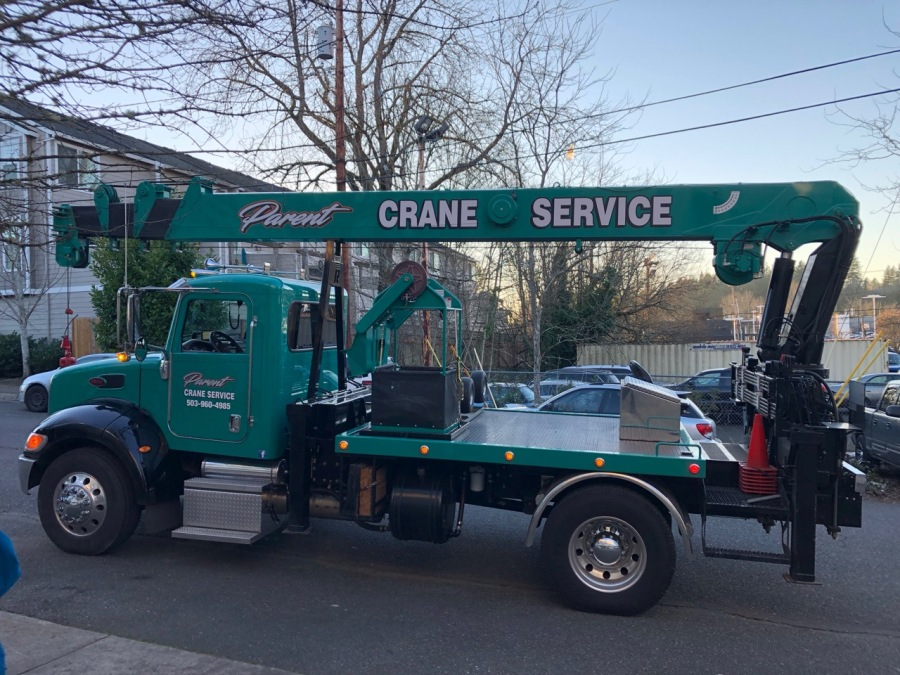 2019-01-30 Post Office Safe - Parent crane truck