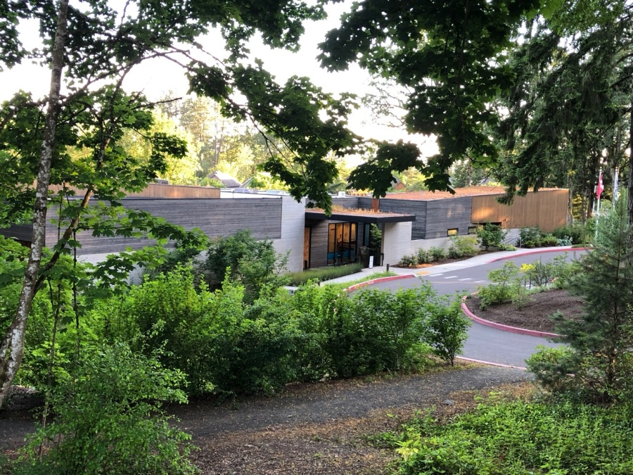 Fogelbo tour 2019 exterior - Nordia house from Fogelbo grounds