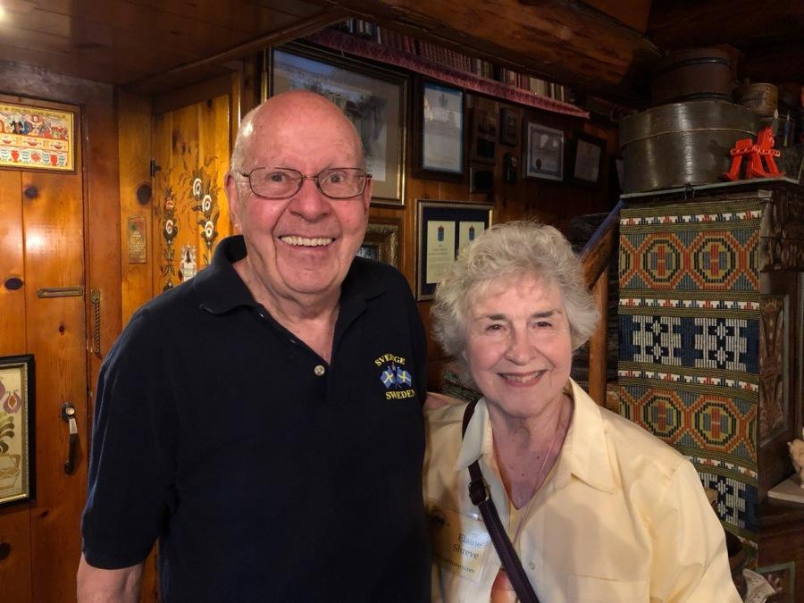 Fogelbo tour 2019 interior - Ross and Elaine