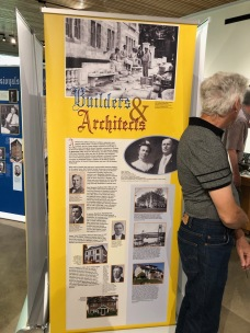 Nordia house event 6-2019 - From Sweden to Oregon exhibit - Builders and Architects