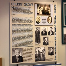 Nordia house event 6-2019 - From Sweden to Oregon exhibit - Cherry Grove