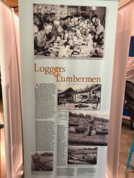 Nordia house event 6-2019 - From Sweden to Oregon exhibit - Loggers and lumbermen