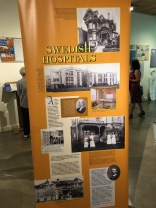 Nordia house event 6-2019 - From Sweden to Oregon exhibit - Swedish hospitals