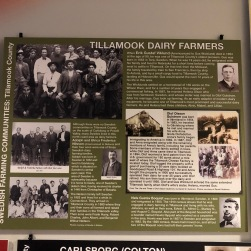 Nordia house event 6-2019 - From Sweden to Oregon exhibit - Tillamook dairy