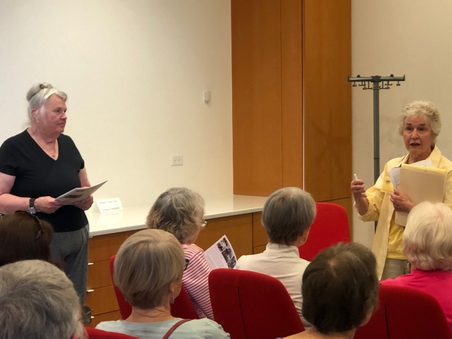 Nordia house event 6-2019 presentation - Ann Stoller and Elaine Shreve