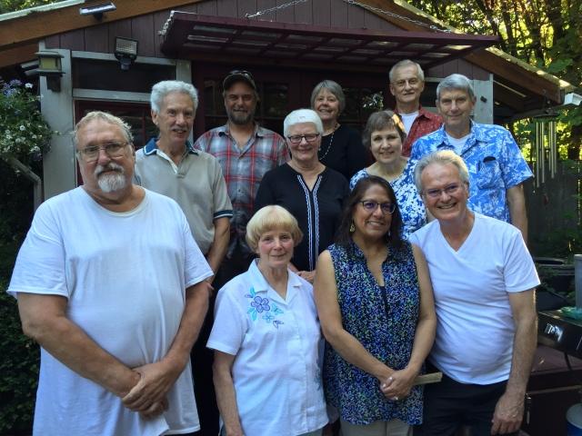 July 2019 board picnic at Wormwood Manor