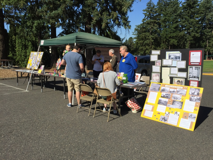 Garden Home Recreation Center Mini Market August 24 2019 3