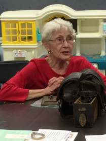 Show and Tell 2019 - Virginia Vanture with her saddle bags