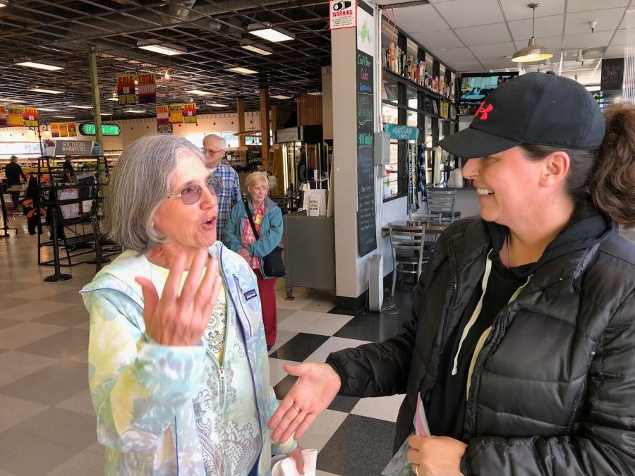2019 Bell Ringing - Barb Stroud and Leslie Bennett