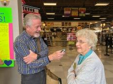 2019 Bell Ringing - Pamplin Media's Bill Gallagher interviewing Elaine Shreve