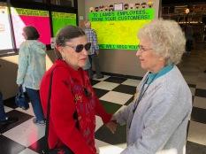 2019 Bell Ringing - Thank you boards - Mrs Davis and Elaine Shreve