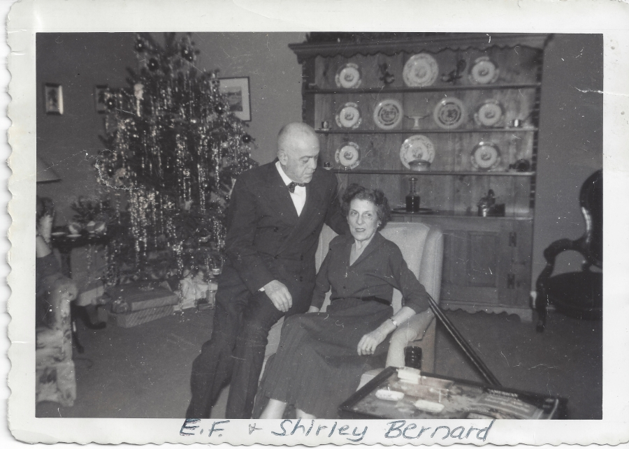 EF and Shirley Bernard, Hunt Club residents