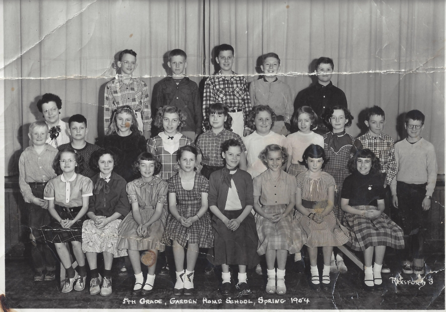 Garden Home School 1954 - 5th grade