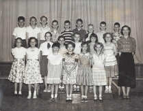 Garden Home School 1955 - 6th grade