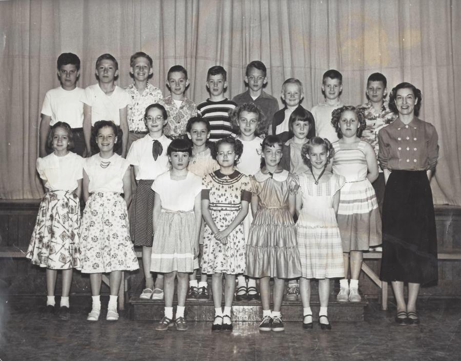 Garden Home School 1955 - 6th grade