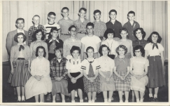 Garden Home School 1956 - 7th grade