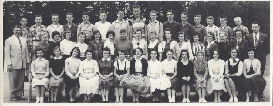 Garden Home School 1957 - 8th grade