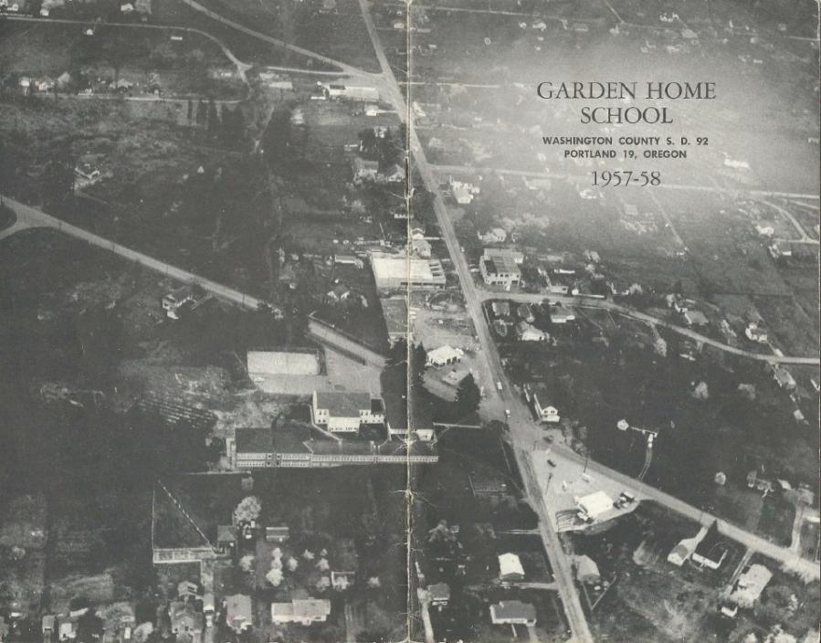 Garden Home School 57-58 Yearbook - page 1
