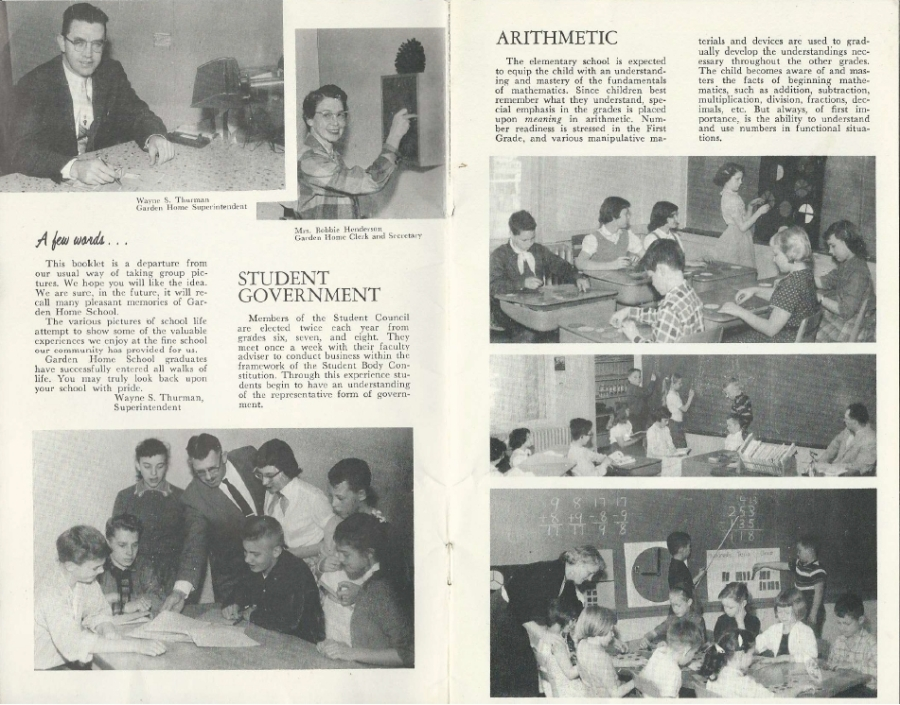 Garden Home School 57-58 Yearbook - page 2